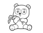 Dibujo de A panda