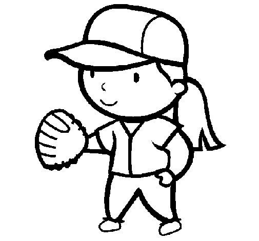 beisbol coloring pages - photo#28
