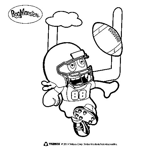 BooMonsters 4 coloring page
