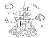 Dibujo de Castle in the Clouds