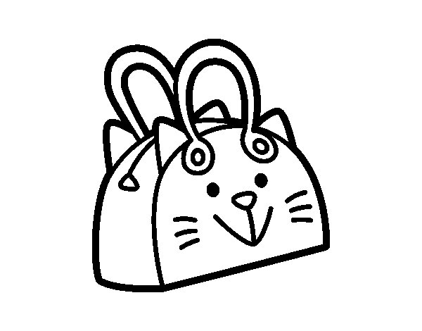 purses coloring pages - photo#7