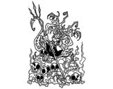 Dibujo de Devil boring