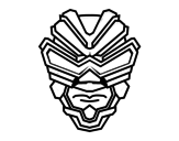 Gamma ray mask coloring page