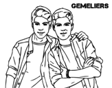 Gemeliers coloring page