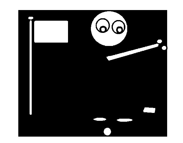 Golfer stick coloring page