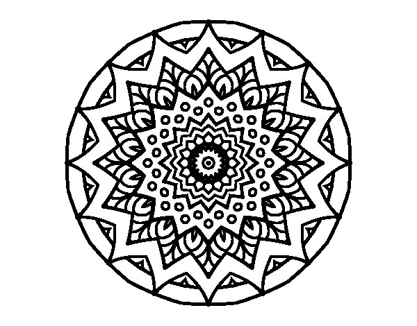 Relaxation Coloring Page