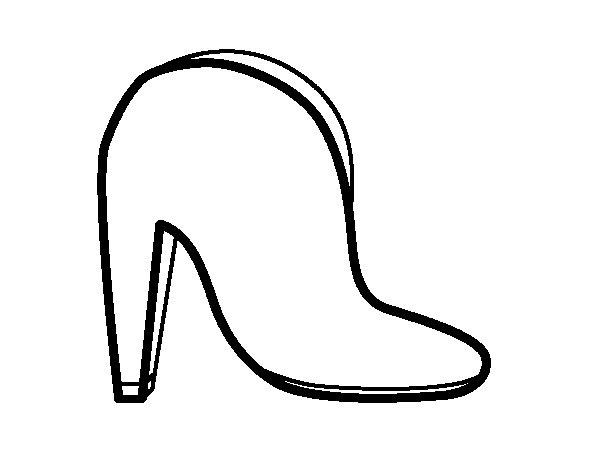 High booty single coloring page
