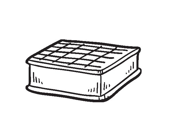 sandwich coloring pages - ice cream sandwich coloring page