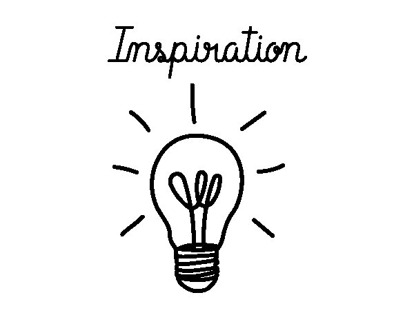 Inspiration coloring page