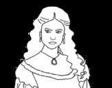 Dibujo de Katherine Pierce from The Vampire Diaries
