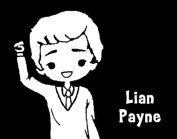 lian payne coloring page
