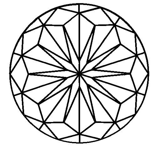 Mandala 42 coloring page
