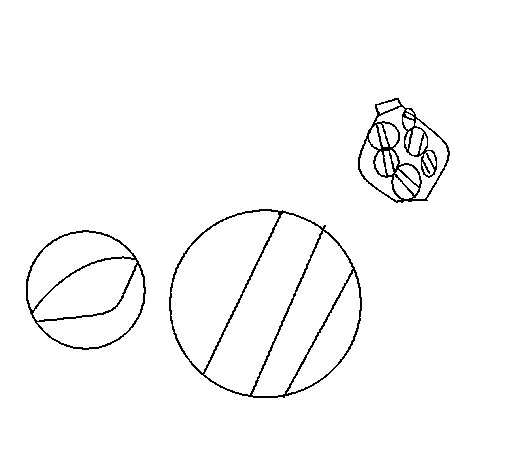 Marble coloring page