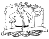 Merry christmas to everyone coloring page