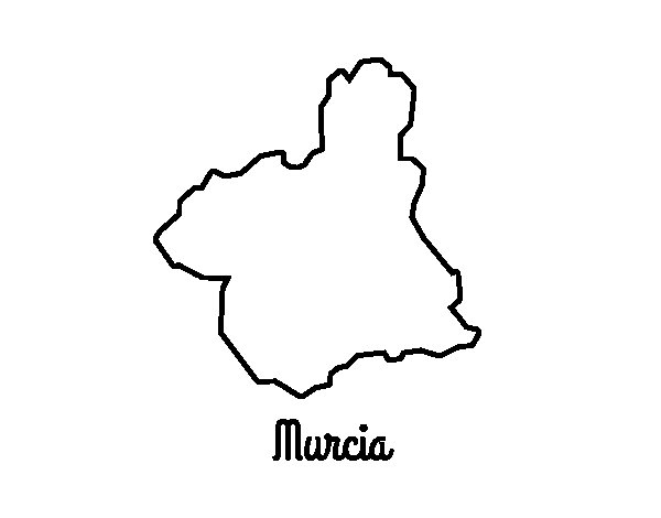 Murcia coloring page