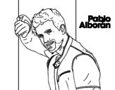 Pablo Alborán singer coloring page