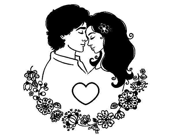 Perfect Love coloring page