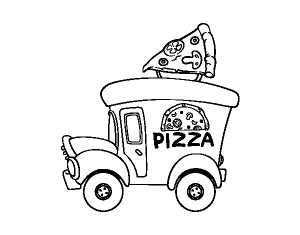 pizza chef coloring page coloring pages