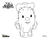 Sheriff Callie's Wild West - Toby coloring page