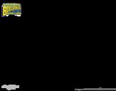 SpongeBob - Plank-ton coloring page