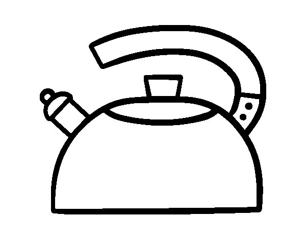 The Teapot coloring page Coloringcrewcom