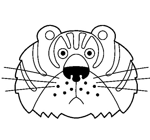 Tiger III coloring page