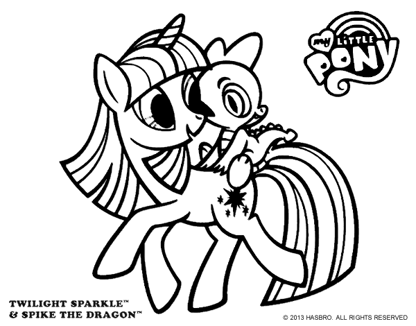 twilight sparkle coloring page coloringcrewcom - Twilight Coloring Pages