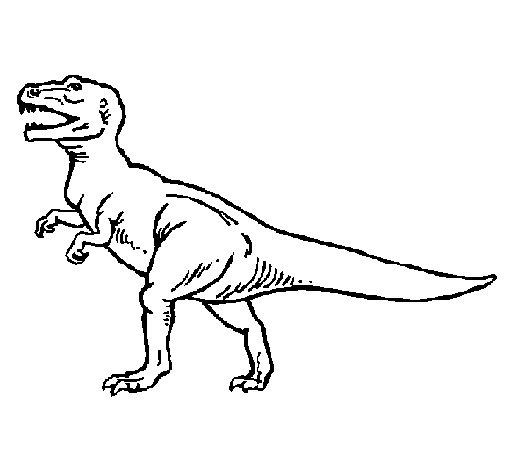 tyrannosaurus-rex-colorear