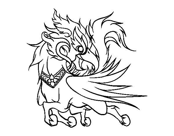 Ussadorn vihok coloring page