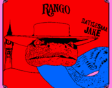 Coloring page Rattlesmar Jake painted bysydney