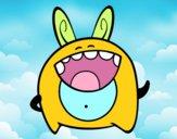 Cheerful monster