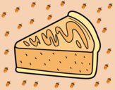 Coloring page Caramel Cake painted byAnia
