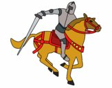 Knight on horseback IV