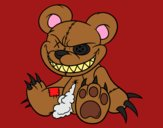 Coloring page Monstrous bear painted byCarapherne