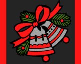 Coloring page Christmas bells painted byCherokeeGl