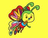 Flirty butterfly