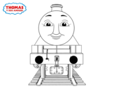 Henry from Thomas and friends coloring page