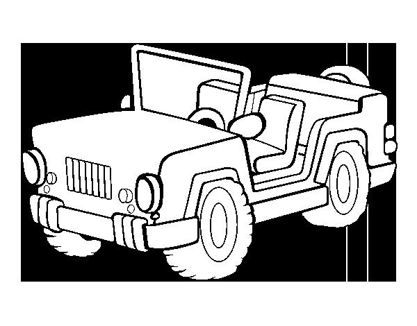 Jeep coloring page - Coloringcrew.com