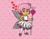 Fairy princess of hearts